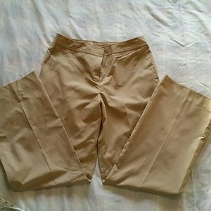 Pre-owned Tan dress pants fully lined size 10